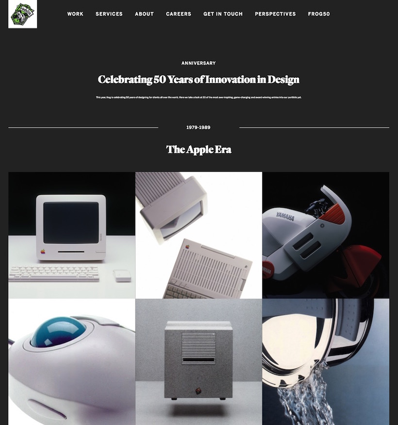 Celebrating 50 Years of Innovation in Design - frog – The Apple Era (edited)